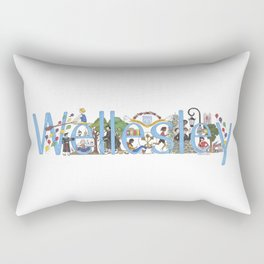 Wellesley College by Stephanie Hessler '84 Rectangular Pillow