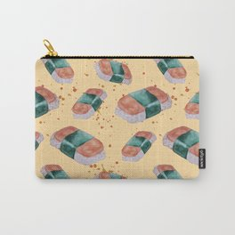 Spam Musubi Pattern Carry-All Pouch