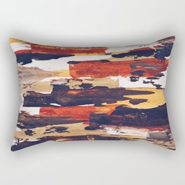Frostbitten Brownstones Rectangular Pillow