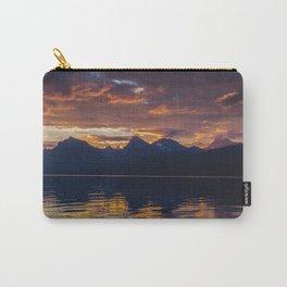 Sunrise Glacier National Park - Lake McDonald Carry-All Pouch