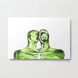 Lovebite Metal Print