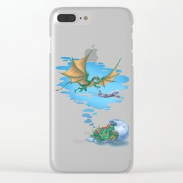 If Dogs Chase Cars... Clear iPhone Case