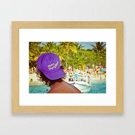 British Virgin Islands Framed Art Print