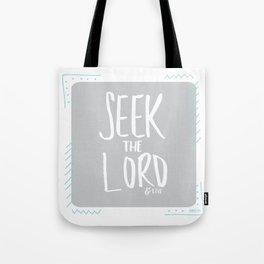 AMOS 5:6 Tote Bag
