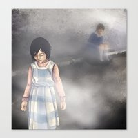 silent hill Canvas Prints featuring Duality - Silent Hill by JeyJey Artworks