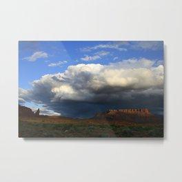 Storm & Sandstone Metal Print