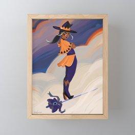 Sword Witch Framed Mini Art Print