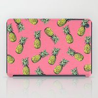 fresh prince iPad Cases featuring fresh pineapple! by happy prints