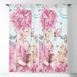 Marie Antoinette Wallflower Blackout Curtain