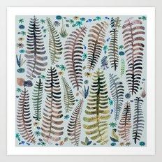 fantasy nature Art Print