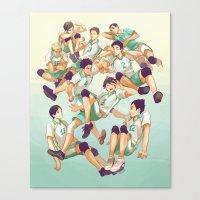 viria Canvas Prints featuring Aobajousai by viria