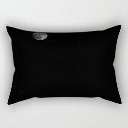 full moon night vibes Rectangular Pillow