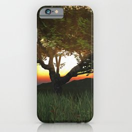 Sunset Tree 2020 iPhone Case