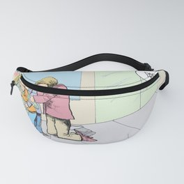 Daddys Home Military Veteran Homecoming Fanny Pack