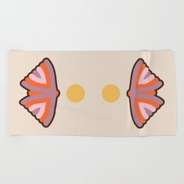 Moth Beach Towel