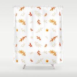 Watercolor autumn Shower Curtain