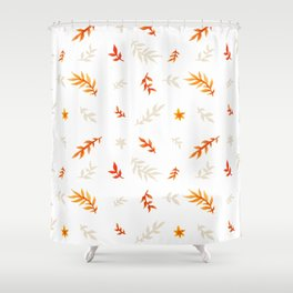 Watercolor autumn Shower Curtain