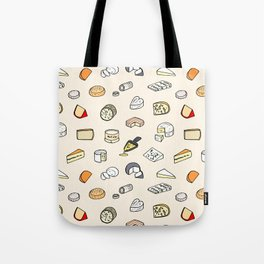 Cheese pattern Tote Bag