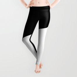 Yin And Yang Sides Leggings