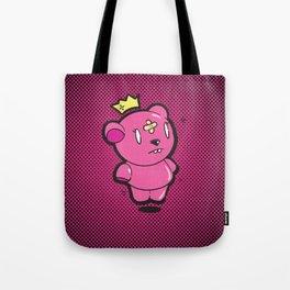 Pink Dead Bear Tote Bag
