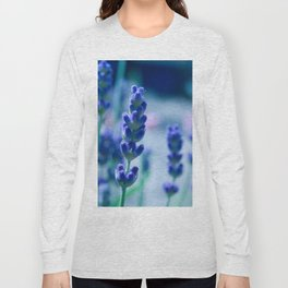 A Touch of blue - Lavender #1 Long Sleeve T-shirt
