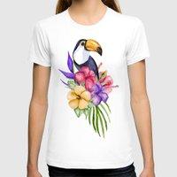 toucan T-shirts featuring Toucan by Julia Badeeva
