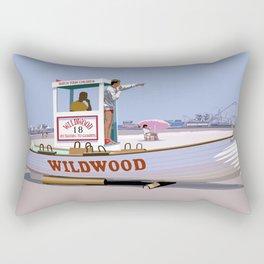 Wildwood Beach Patrol Rectangular Pillow