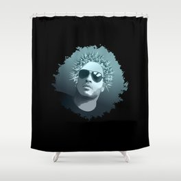 Tribute to Lenny Kravitz Shower Curtain
