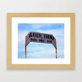 Jerico Farms Framed Art Print