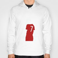 liverpool Hoodies featuring Liverpool FC Legendary No.7 Kenny Dalglish  by jt7art&design