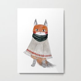 The Fox Metal Print