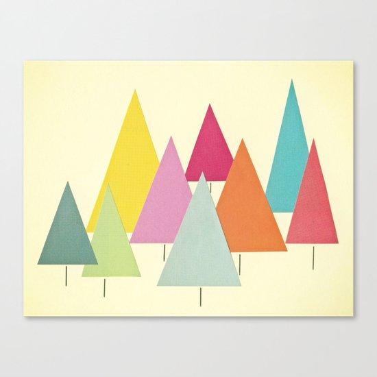 Fir Trees Canvas Print