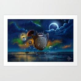 Studio Ghibli: My Neighbour Totoros Art Print