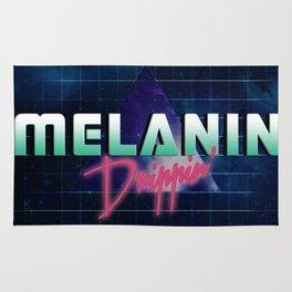 Melanin Drippin' Rug