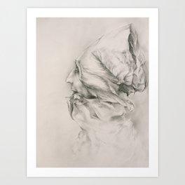 Paper Monk Art Print