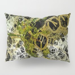 Pale Yellow Poinsettia 1 Letters 4 Pillow Sham