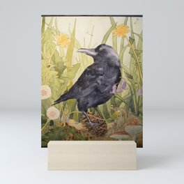 Canuck the Crow Mini Art Print