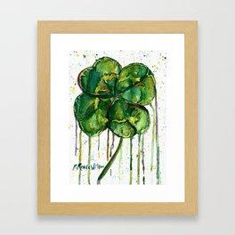 Run O' Luck Framed Art Print