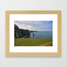 The Cliffs of Moher Framed Art Print