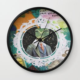 "Sylas ""Sully"" Von Holt Wall Clock"