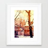 takmaj Framed Art Prints featuring Żyrardów by takmaj