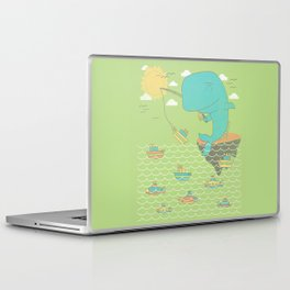 Gone Shipping Laptop & iPad Skin