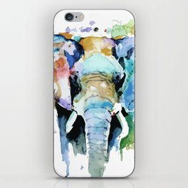 Animal painting iPhone Skin