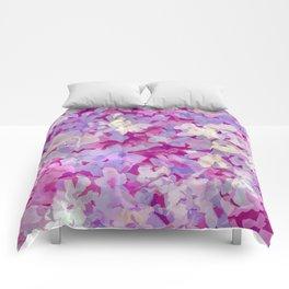Plum Blossoms Comforters