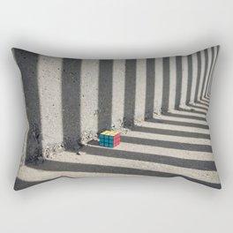 Rubik shading stripes Rectangular Pillow