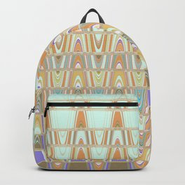 Zentangle Brown Backpack