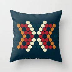 The Skin We Make Throw Pillow