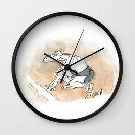 Racehorse Wall Clock