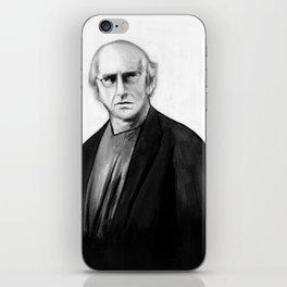 DARK COMEDIANS: Larry David iPhone Skin