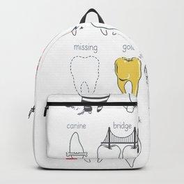 Dental Definitions Backpack efa370e39ec3b